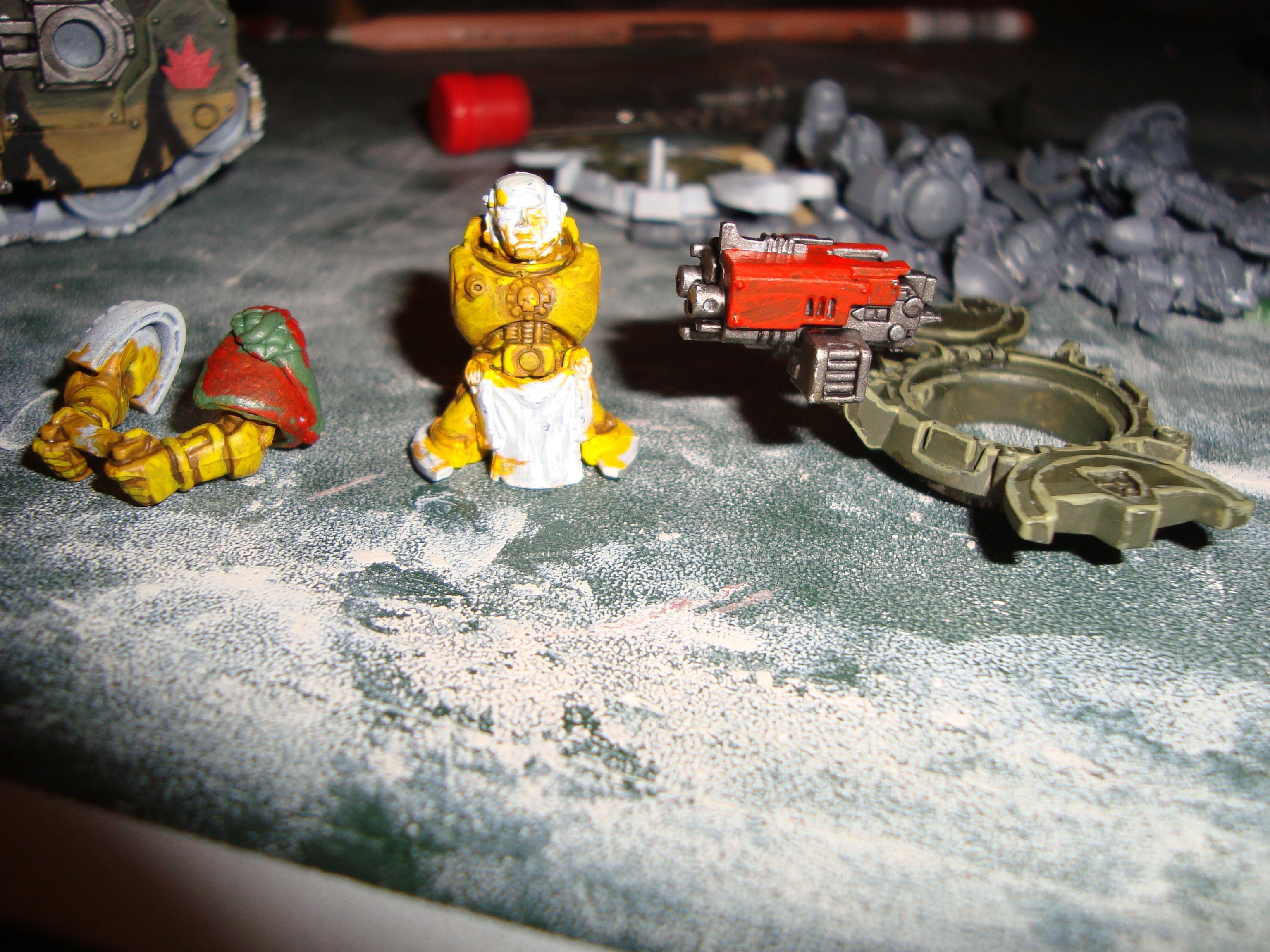 Tank gunner