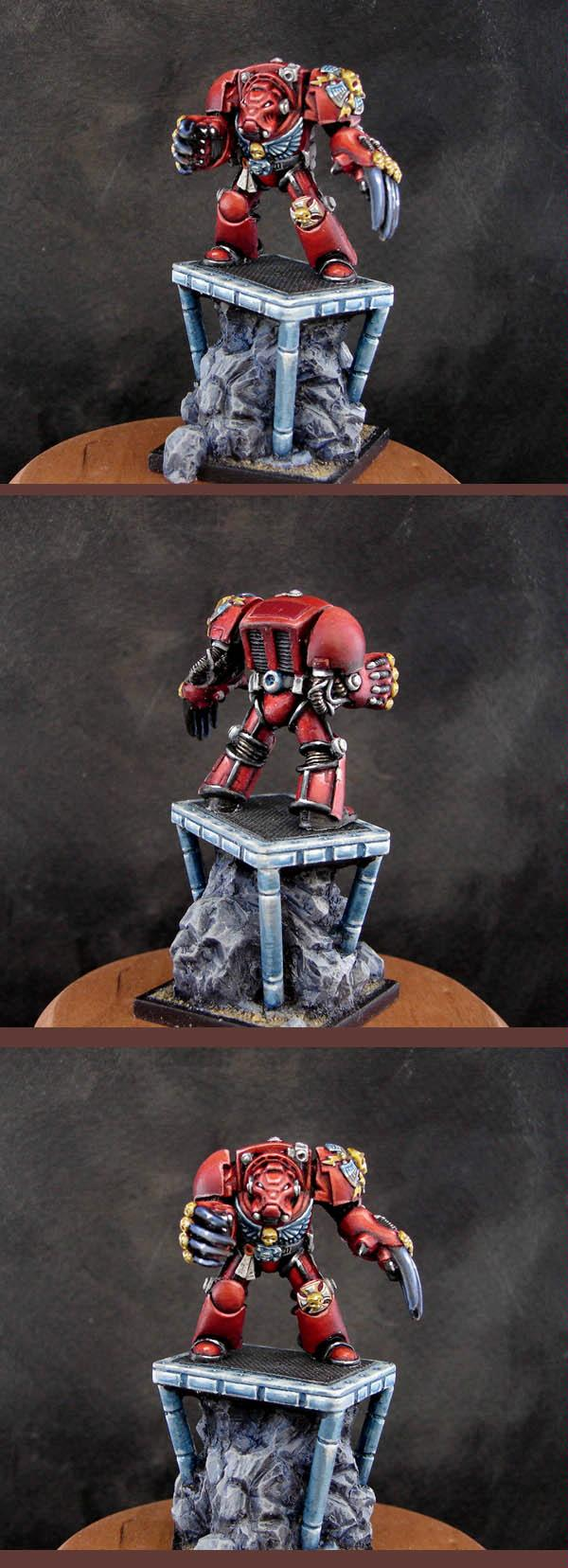 Armorcast, Blood Angels, Space Marines, Terminator Armor, Warhammer 40,000