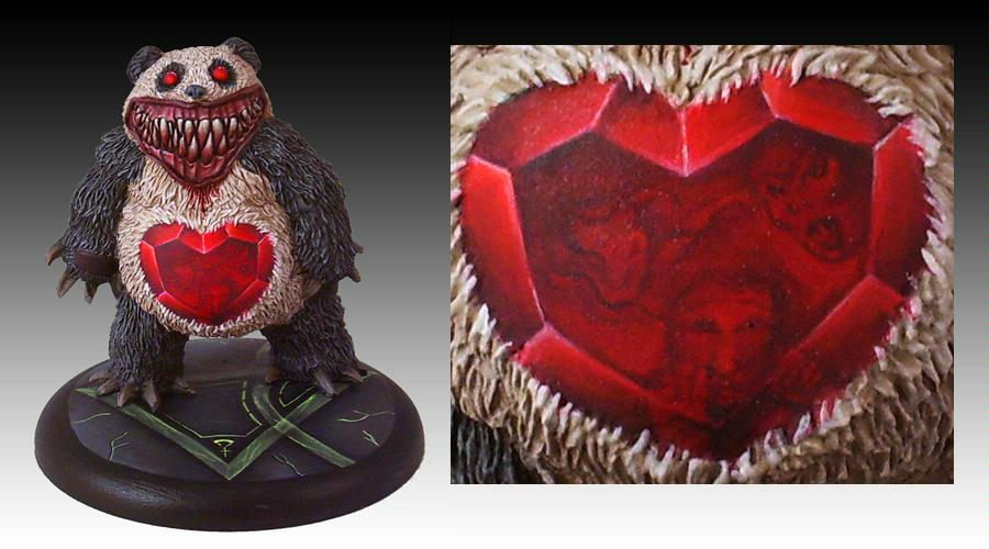 Awesome, Bear, Freehand, Malifaux, Mutant, Neverborn