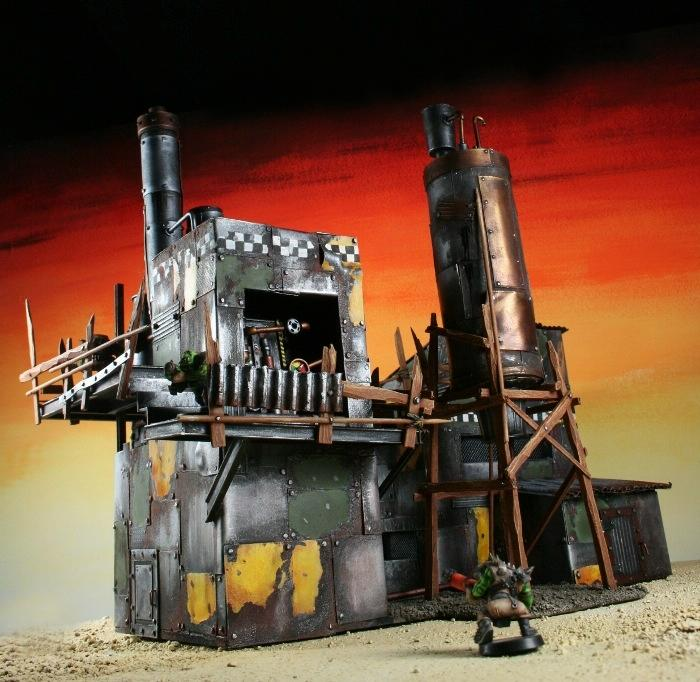 Orks, Scratch Build, Terrain, Warhammer 40,000
