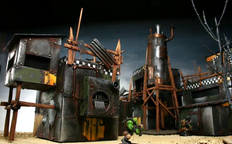 Orks, Terrain, Warhammer 40,000