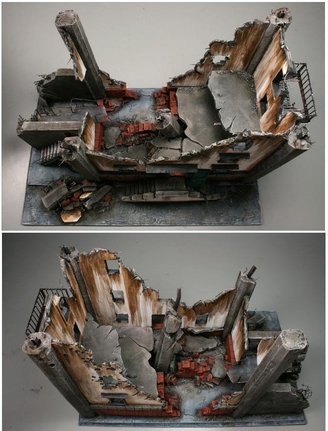 Cities Of Death, Factory, Ruin, Scratch Build, Terrain, Urban