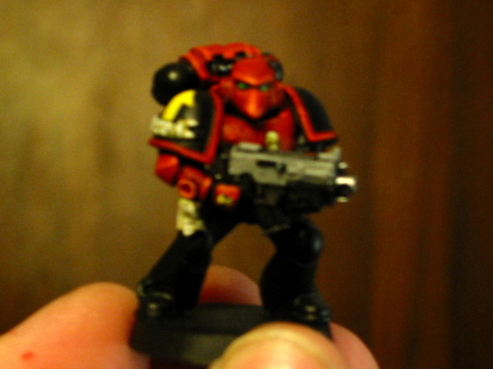 Blurred Photo, Space Marines, Star Trek