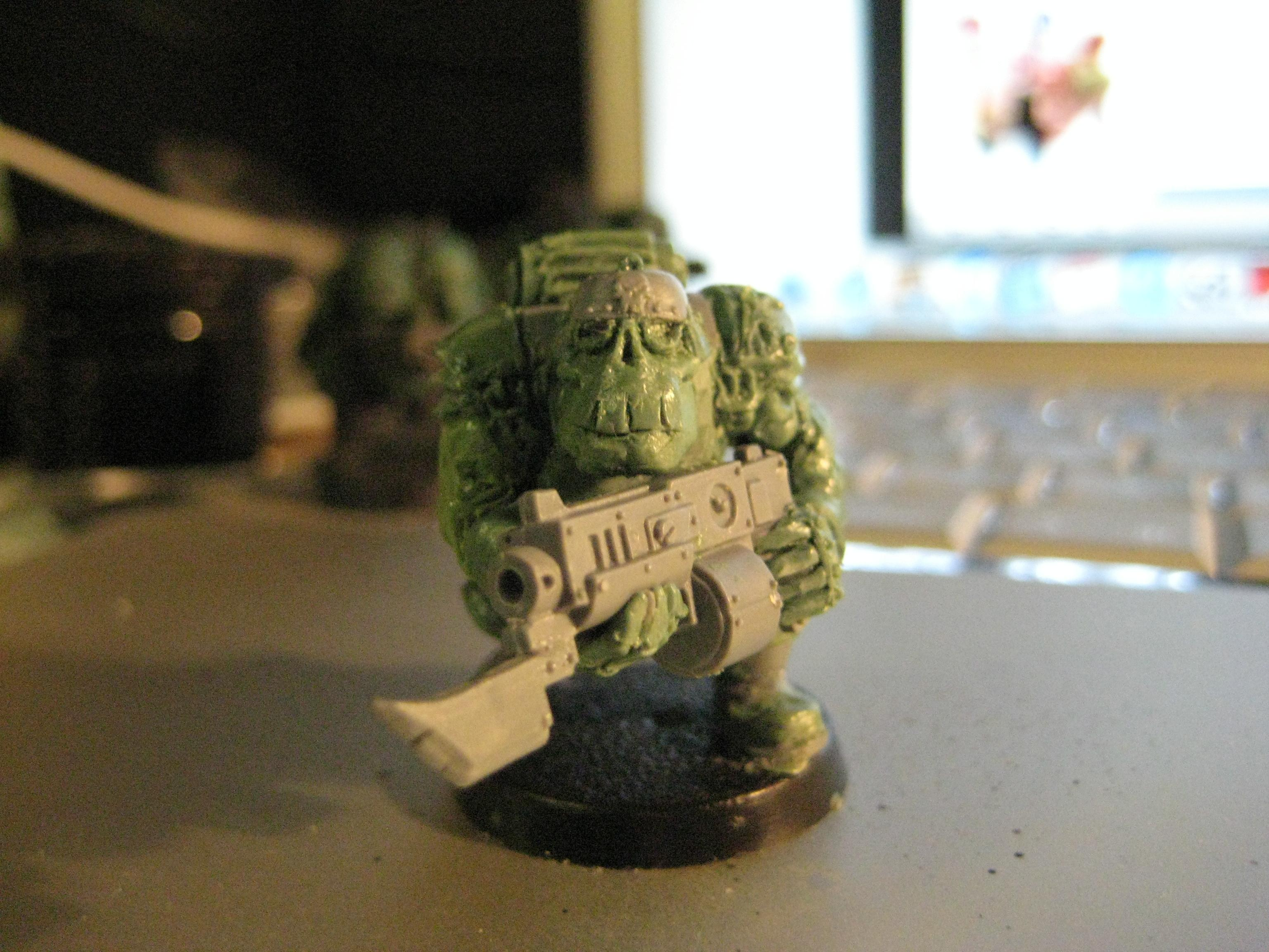Orks, Sculpting