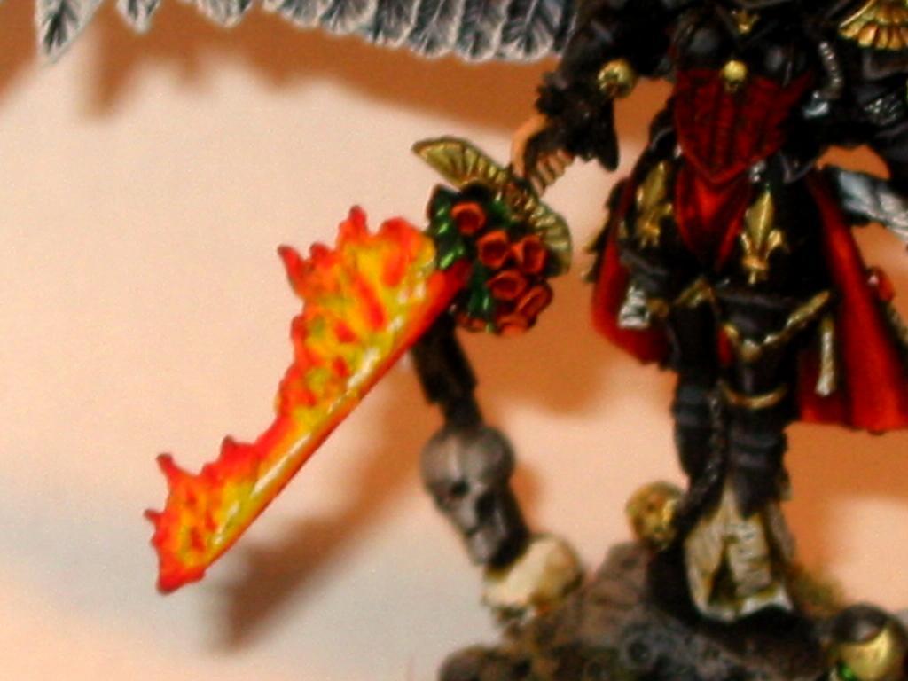 Fire, Flames, Sisters Of Battle, Sword