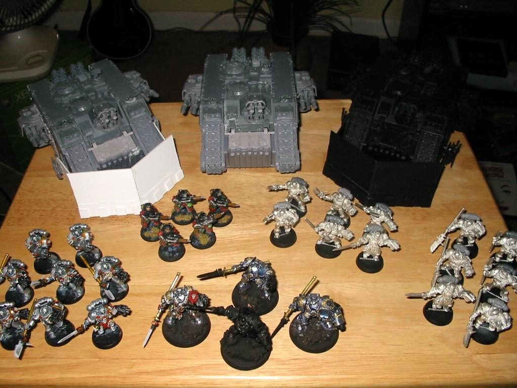 Grey Knights, Land Raider, Warhammer 40,000, Work In Progress