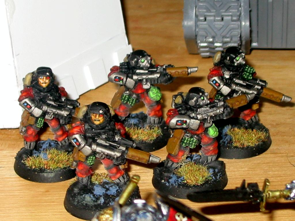 Daemonhunters, Imperial Guard, Inquisition, Storm Troopers
