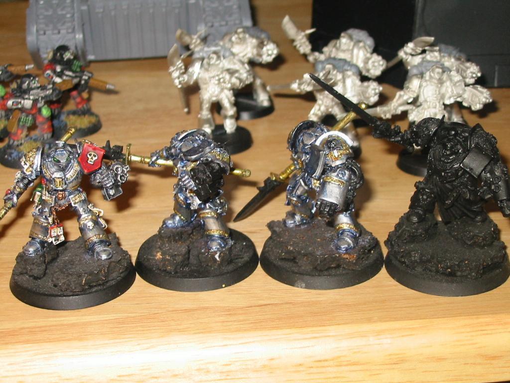 Daemonhunters, Grey Knights, Inquisition, Terminator Armor