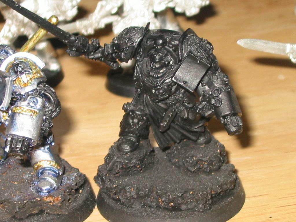 Conversion, Daemonhunter, Grey Knights, Terminator Armor