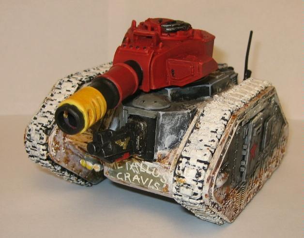 Imperial Guard, Leman Russ, Snow, Tank, Valhallans, Warhammer 40,000