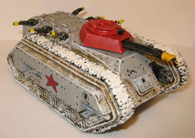 Chimera, Imperial Guard, Snow, Tank, Valhallans, Warhammer 40,000
