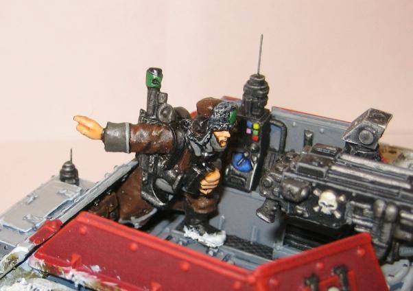 Imperial Guard, Salamander Scout, Valhallans, Warhammer 40,000