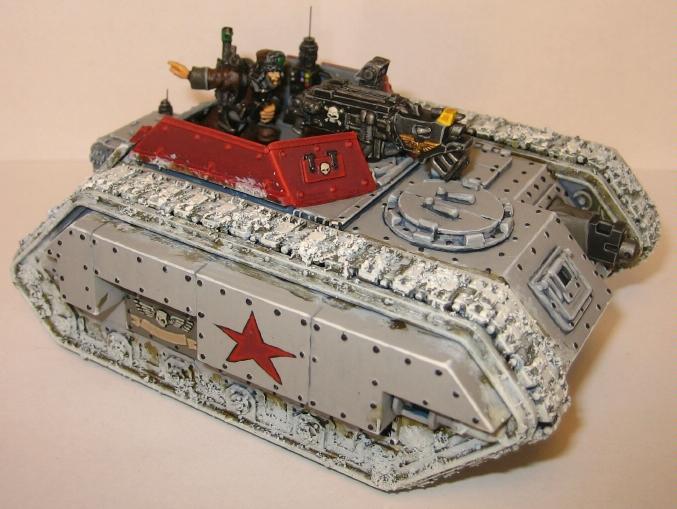 Imperial Guard, Salamander Scout, Snow, Tank, Valhallans, Warhammer 40,000