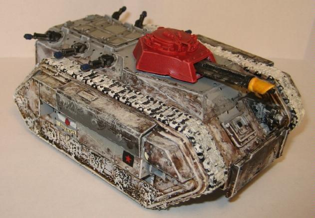 Chimera, Imperial Guard, Snow, Tank, Valhallans, Warhammer 40,000