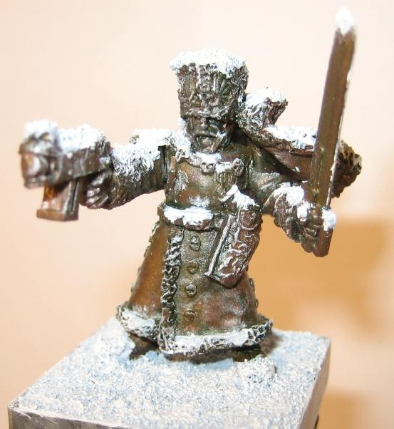 Imperial Guard, Objective Marker, Snow, Statue, Valhallans, Warhammer 40,000