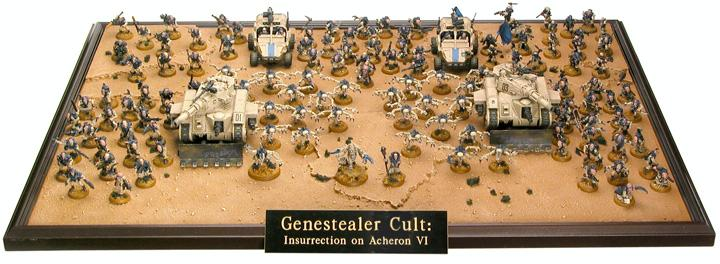 Army, Counts As, Cult, Display, Genestealer