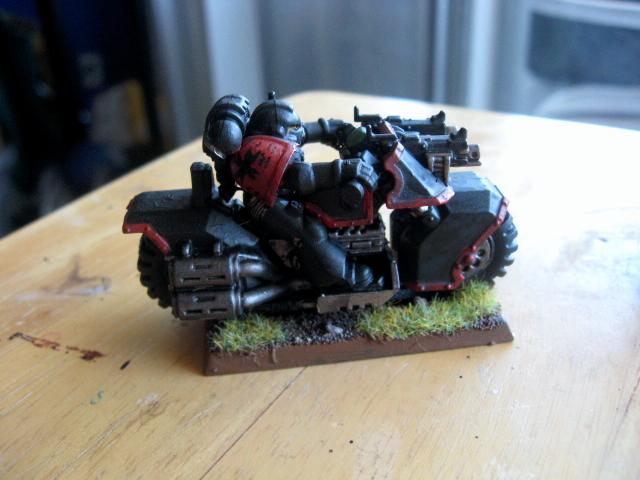 Bike, Black Templars, Sprue Posse, Warhammer 40,000