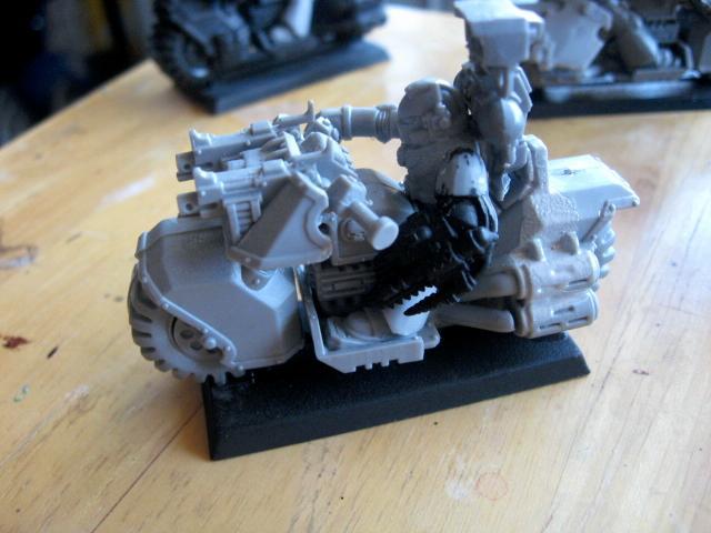 Bike, Black Templars, Sprue Posse, Warhammer 40,000