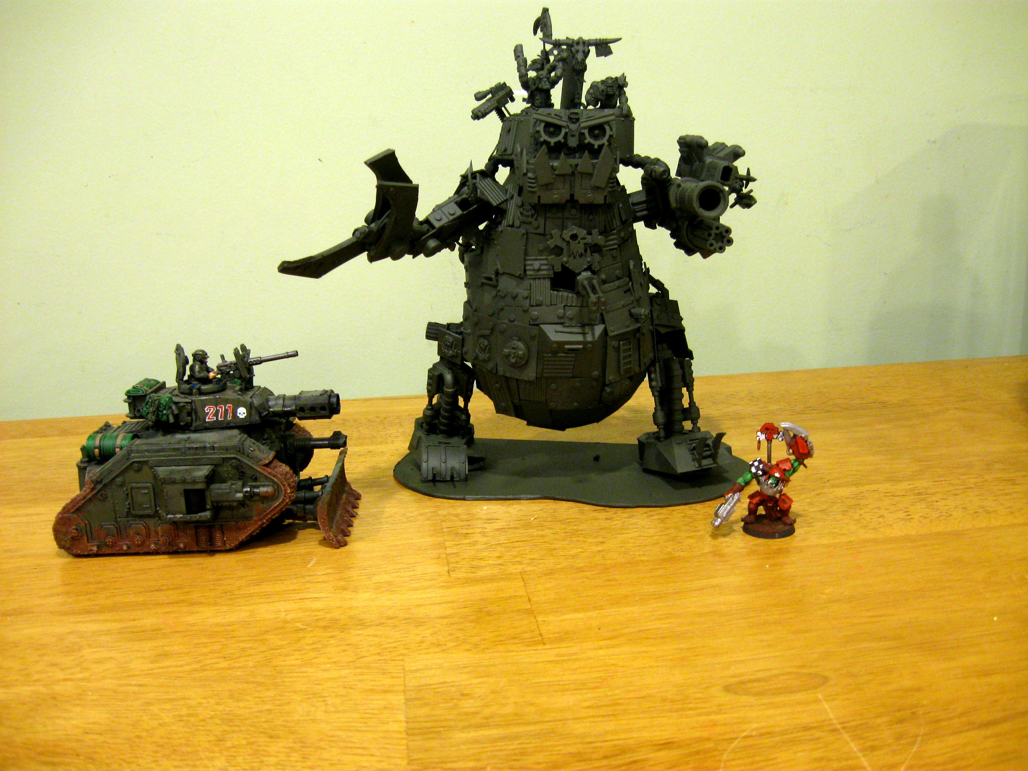Orks, Stompa, Warhammer 40,000