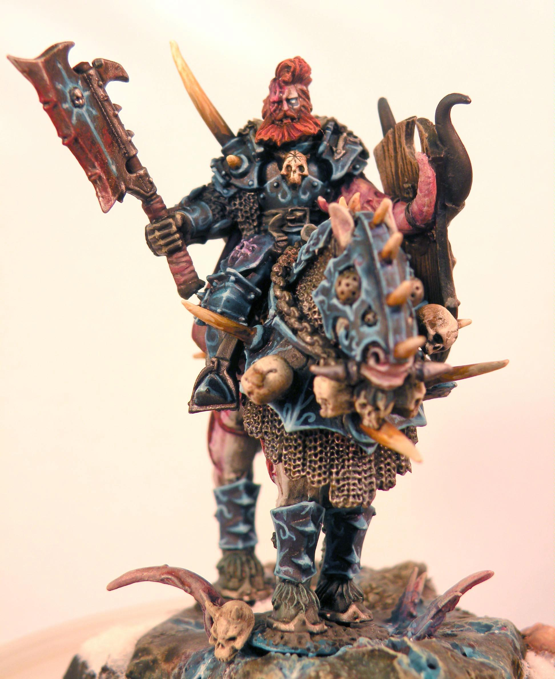Chaos Lord, Deamonic Mount, Warhammer Fantasy, Warriors Of Chaos