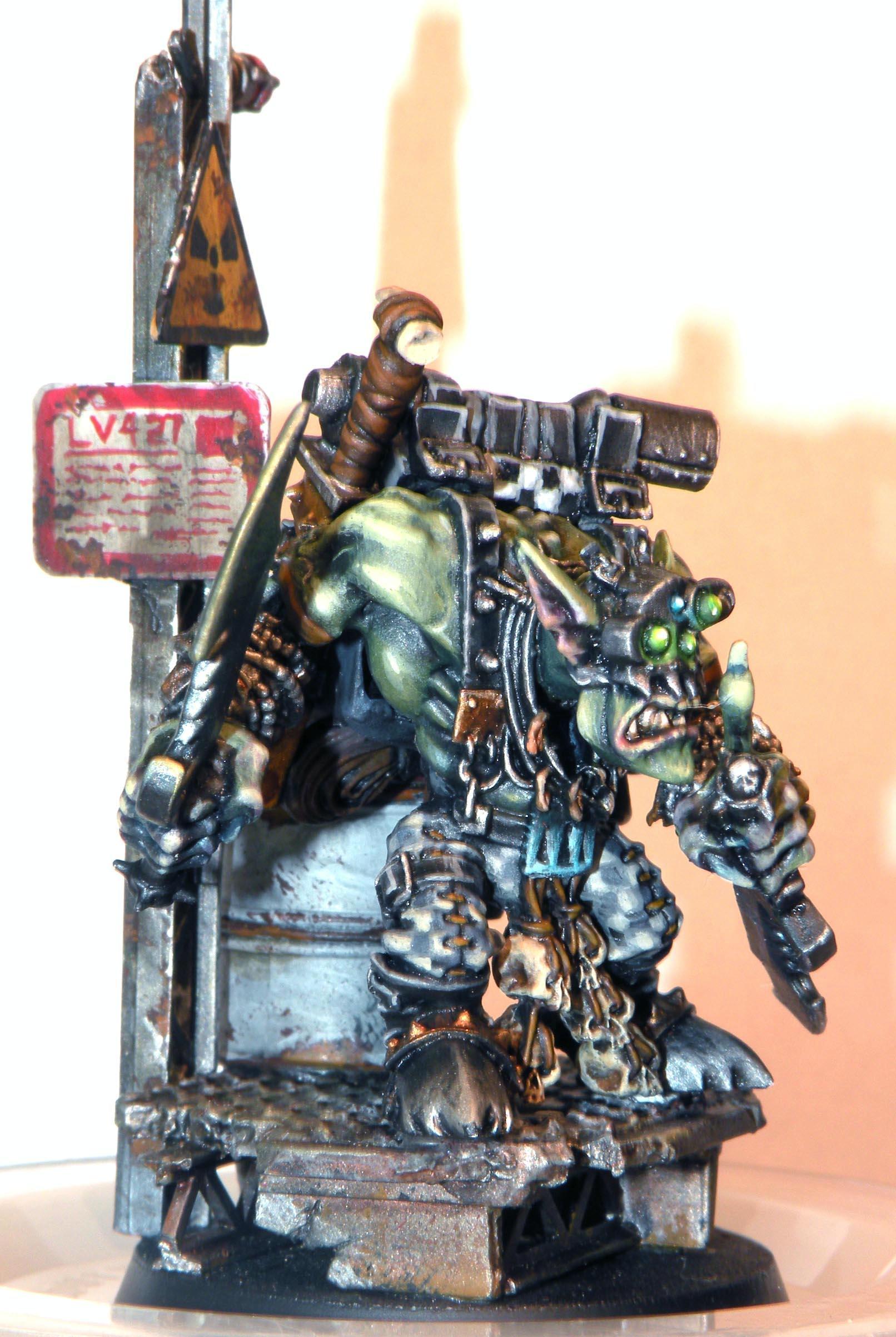 Amazing Base, Boss Snikrot, Orks, Warhammer 40,000