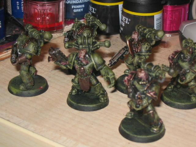 Chaos, Nurgle, Plague, Space, Space Marines, Warhammer 40,000