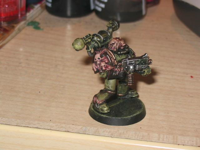 Chaos Space Marines, Nurgle, Plague Marines, Warhammer 40,000
