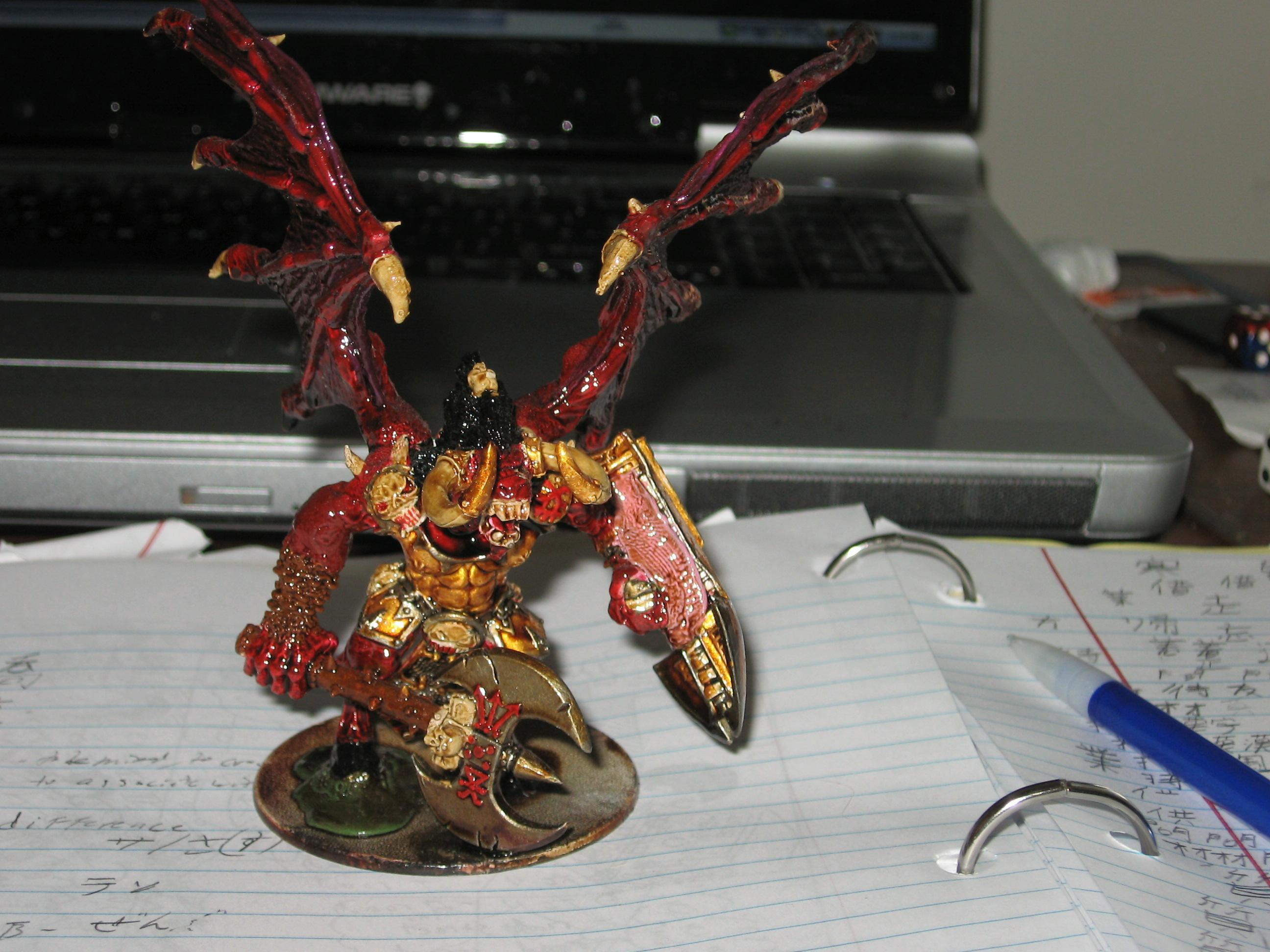 Bloodthirster, Daemons Of Chaos, Greater Daemon, Khorne, Warhammer 40,000