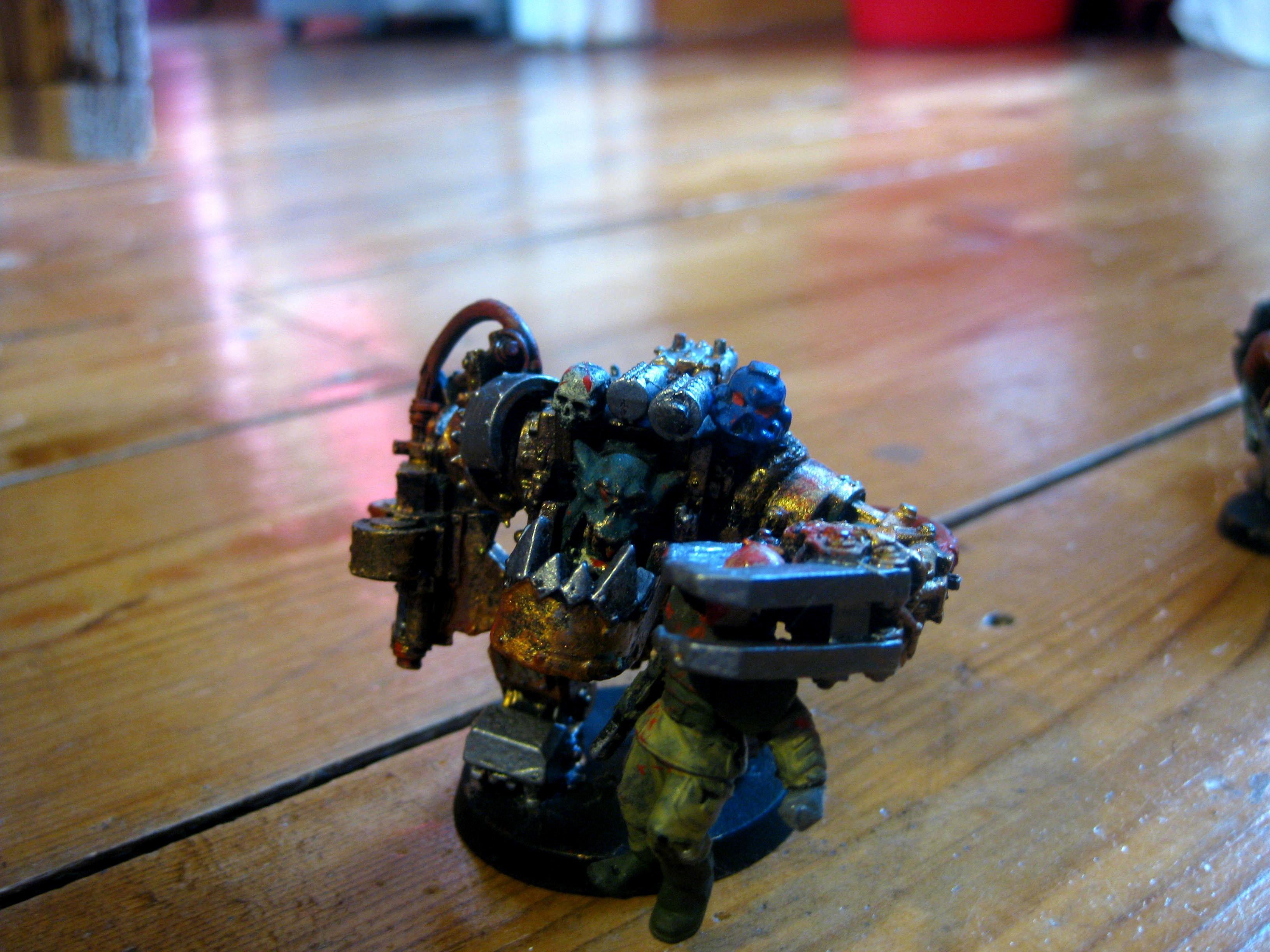 Armor, Mega, Orks, Warboss