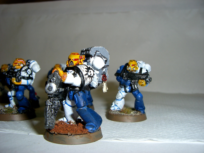 Nova Marine 3rd squad hvy bolter
