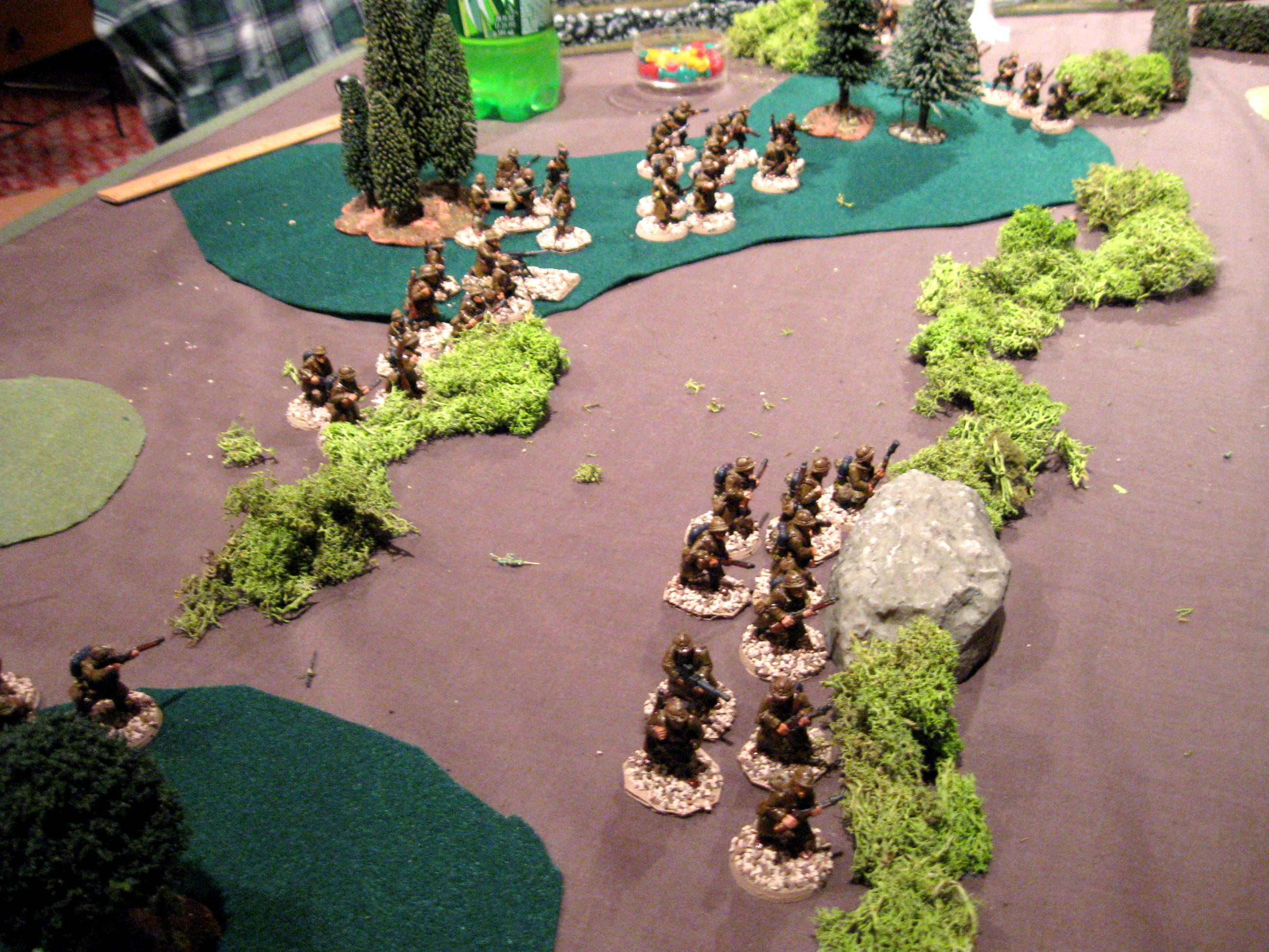 25mm, 28mm, Battle Report, Disposable Heroes, French, Germans, Historical, World War 2