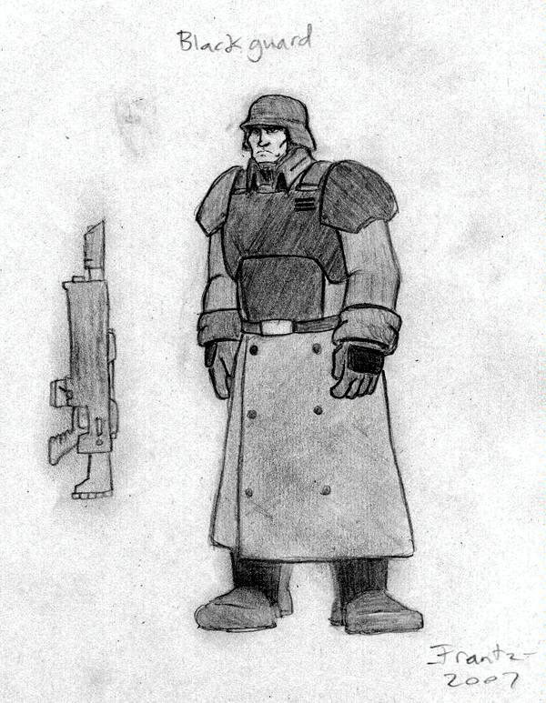 Artwork, Imperial Guard