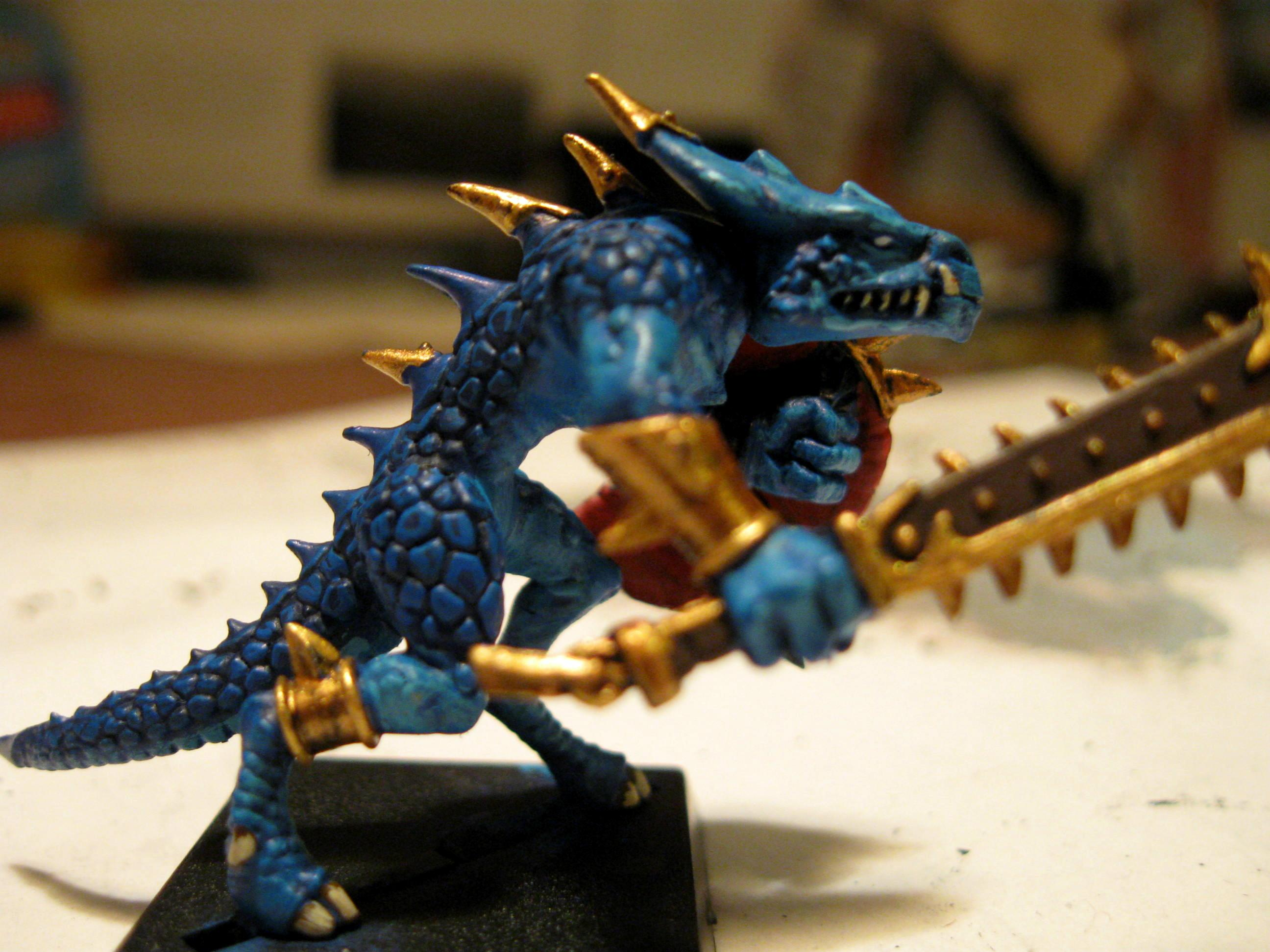 First Fantasy Model, Lizardmen, Saurus Warriors, Warhammer Fantasy