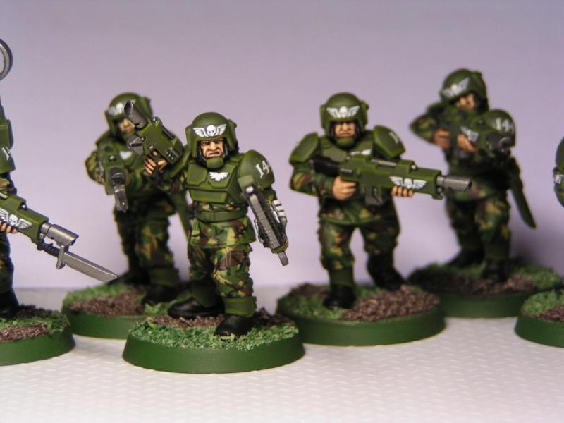 Cadians, Camouflage, Imperial Guard, Infantry, Warhammer