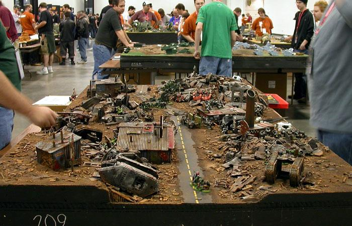 Game Table Junkyard Orks Warhammer 40000 I Have No Idea Where