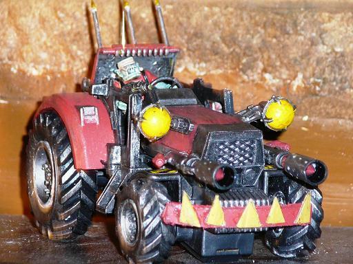 Buggy, Orks, War