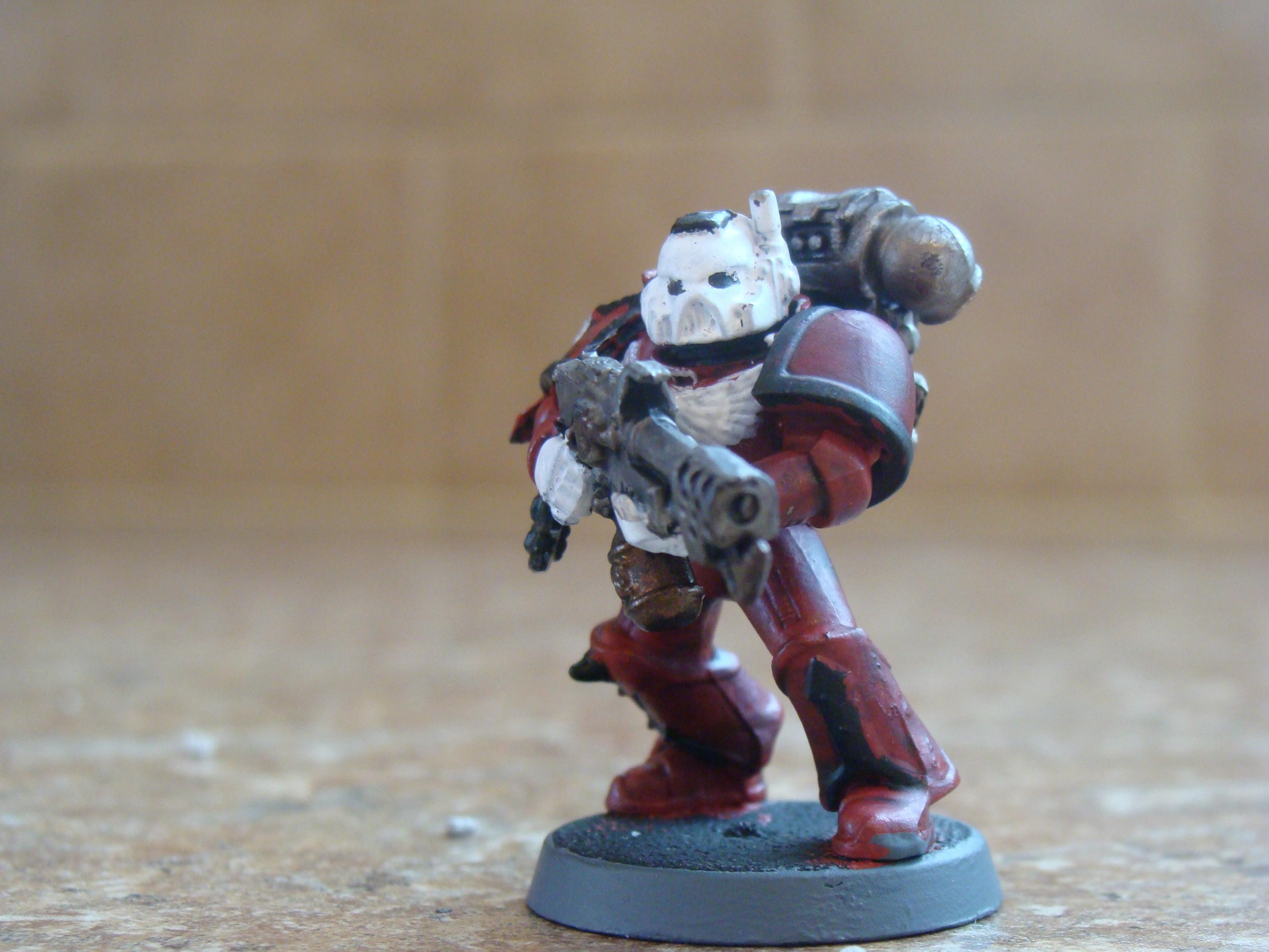 Space Marines, Front_red