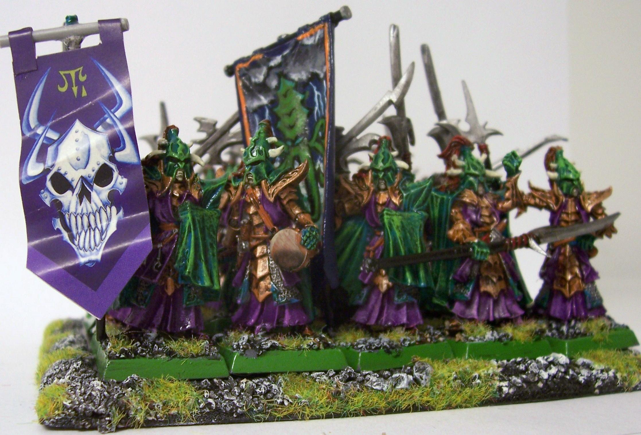 Banner, Dark Elves, Ranked, Warhammer Fantasy