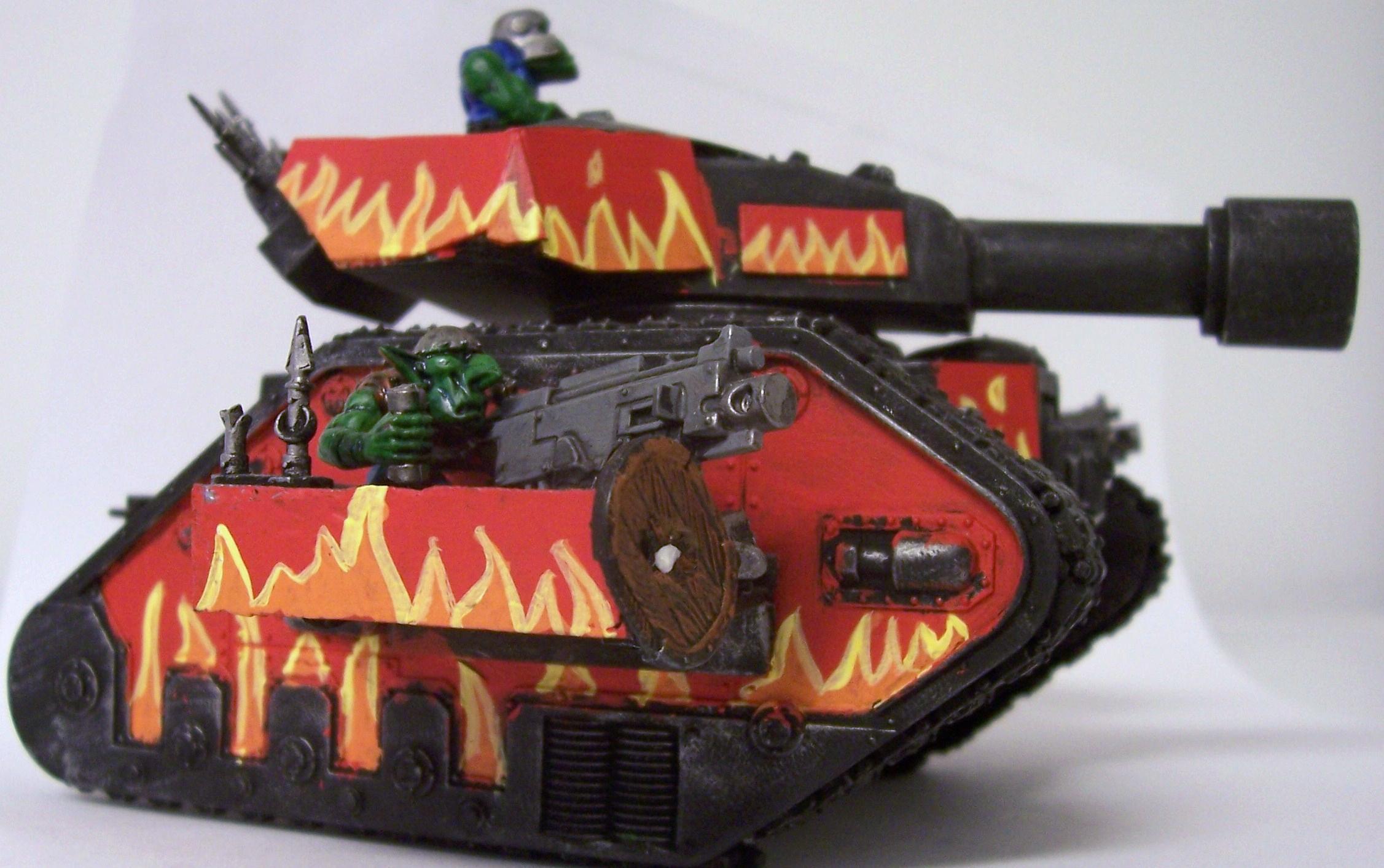 Guard Abuse, Leman Russ, Looted, Looted Wagon, Orks, Warhammer 40,000