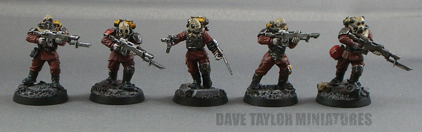 Blood Pact, Chaos, Imperial Guard, Lost And The Damned, Renegade Guard, Warhammer 40,000