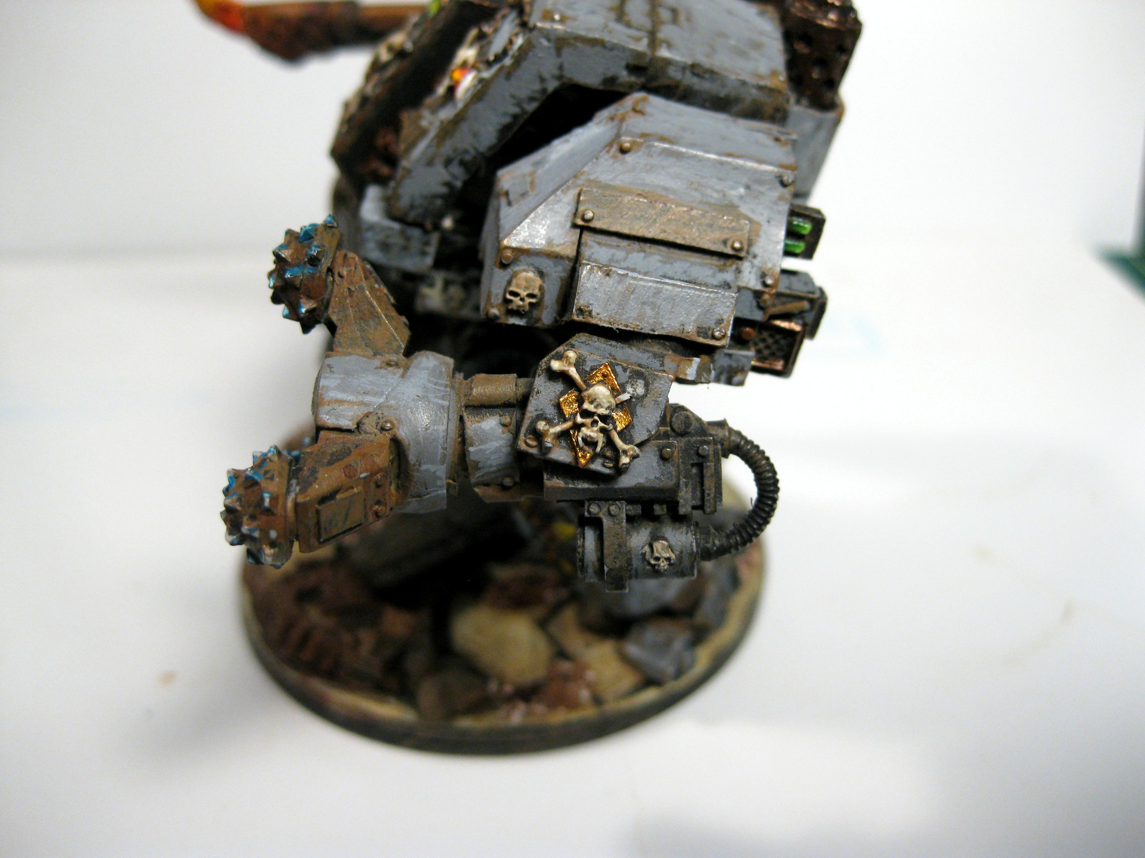 Dreadnought, Ironclad, Space Wolves, Wheathering