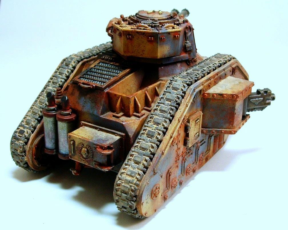 Airbrush, Guard, Renegade Guard, Tank, Warhammer 40,000