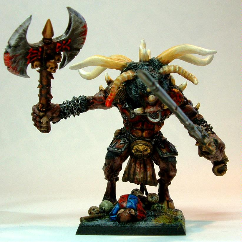Khorne, Minotaur, Scratch Build