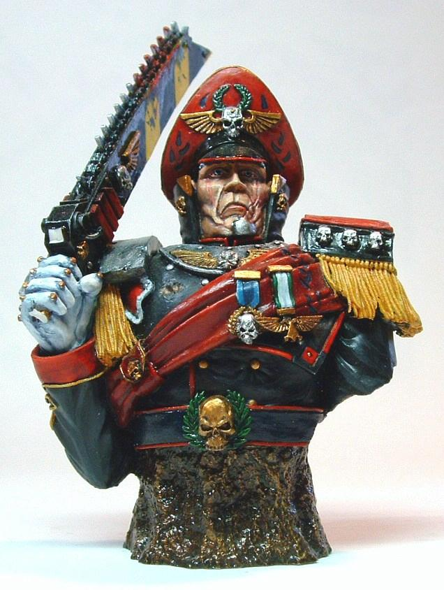 Bust, Commissar, Forge World, Imperial Guard