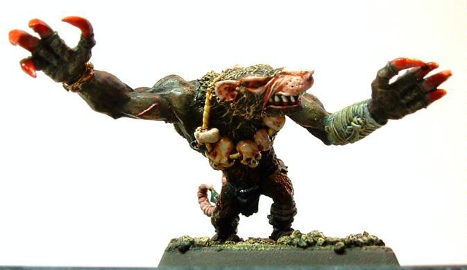 Rat Ogre, Skaven, Warhammer Fantasy, Wfb