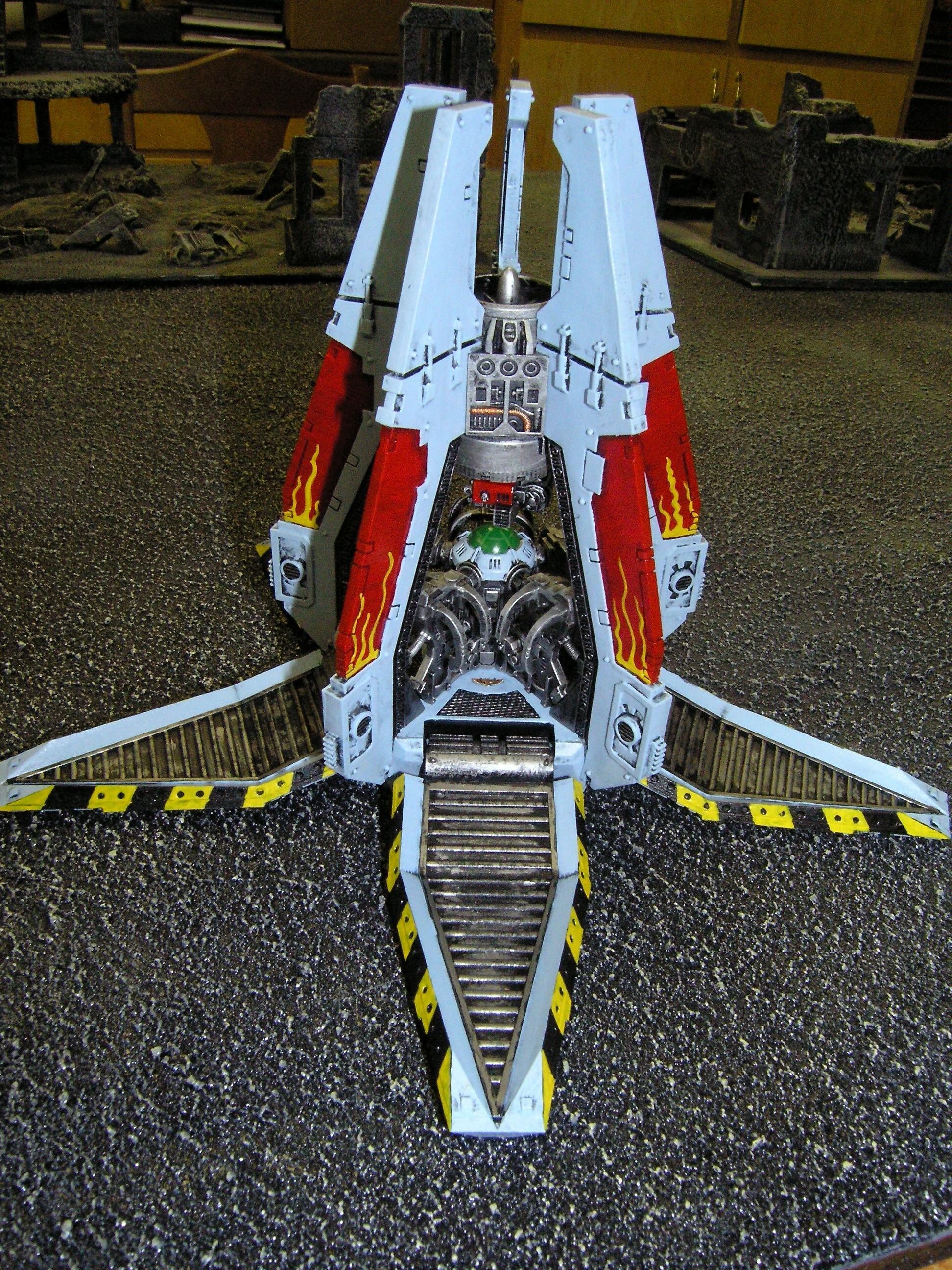 Drop Pod, Space Marines, Warhammer 40,000