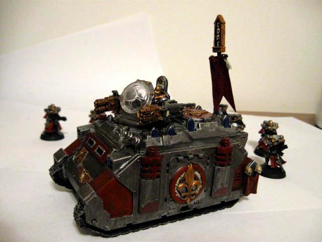 Immolator, Sisters Of Battle, Tank, Warhammer 40,000