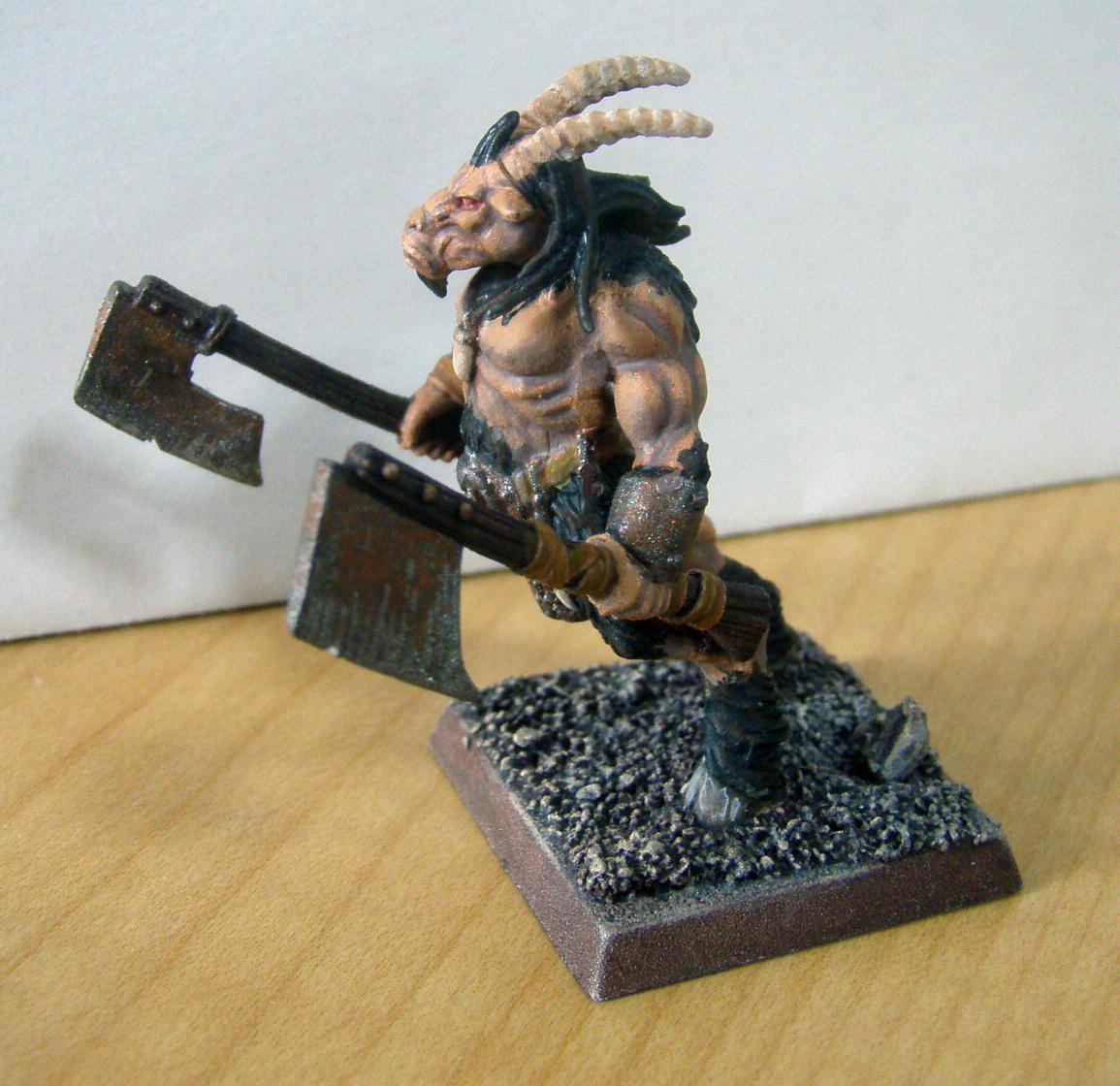28mm, Beastmen, Beasts Of Chaos, Chaos, Games Workshop, Gor, Infantry, Warhammer Fantasy