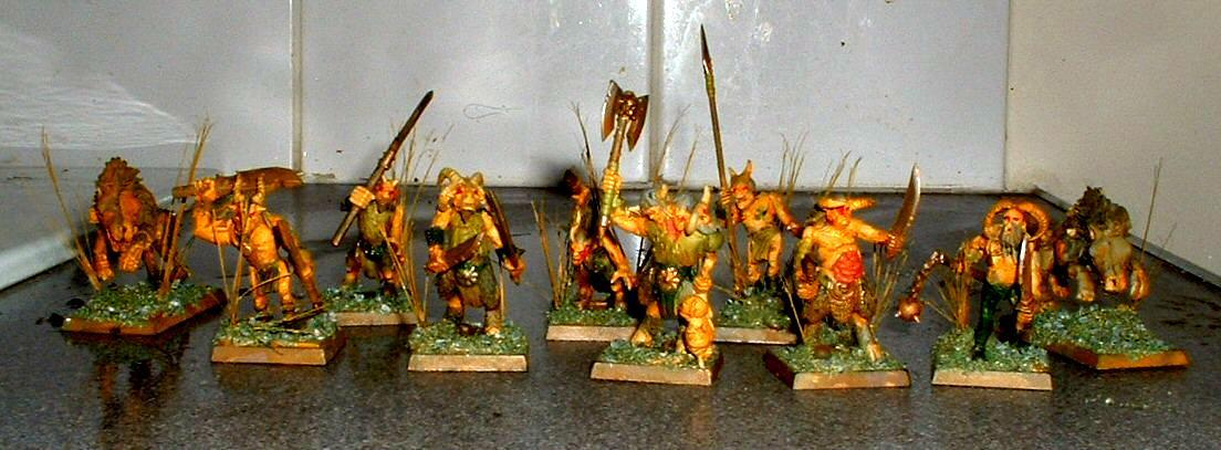 Beastmen, Chaos, Nurgle, Warhammer Fantasy