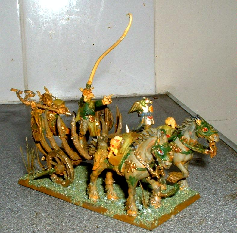 Beastmen, Chaos, Chariot, Nurgle